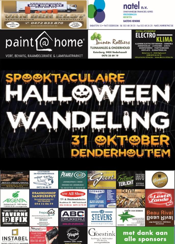 Spooktaculaire halloweenwandeling